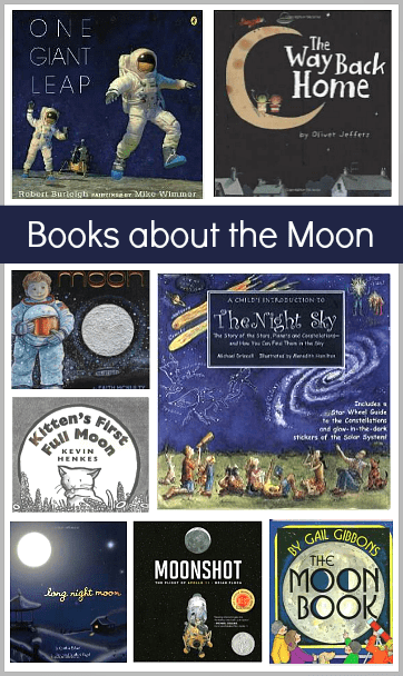 Children's Book List: Picture Books about the Moon~ BuggyandBuddy.com