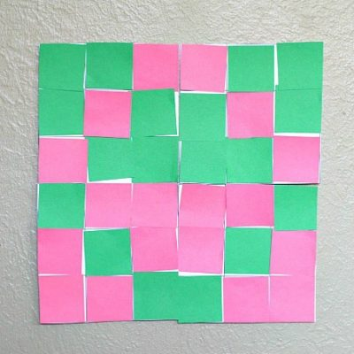 Geometry for Kids: Nine-Square Paper Quilt Design