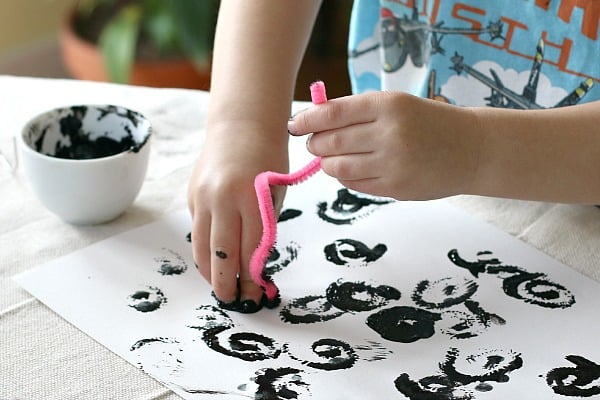 stamping sheep craft