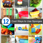 Cool Sponge Crafts and Activities for Kids