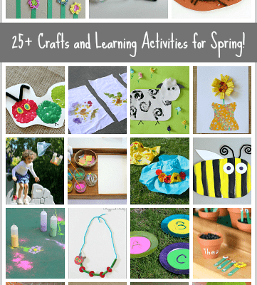 25+ Spring Crafts and Learning Activities for Kids