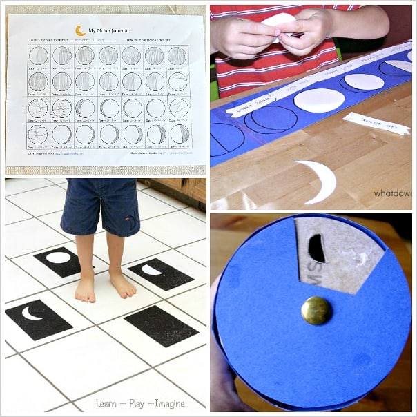 Science Activities for Kids about the Moon