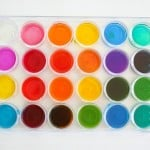 Mixing Colors: Color Array Using a Tray and Pipettes