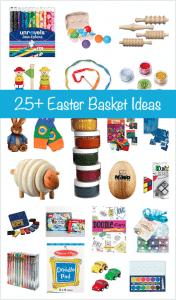 Over 25 Easter Basket Ideas for Kids