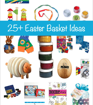 Over 25 Easter Basket Ideas for Kids