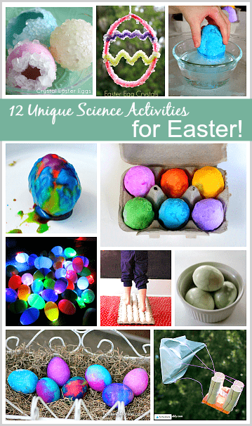 12 Unique Science Activities Perfect for Easter!