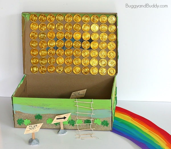Leprechaun Trap Ideas for St. Patrick's Day~ BuggyandBuddy.com