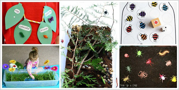 bug sensory activities for kids