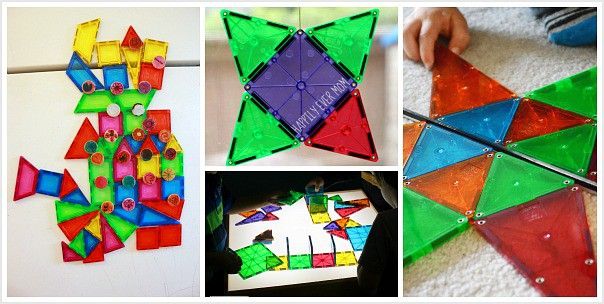 unique ways to use Magna-Tiles