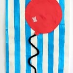 Preschool Balloon Art Activity Inspired by Goodnight Moon