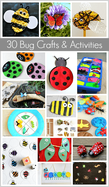 30 Bug Crafts and Activities for Kids
