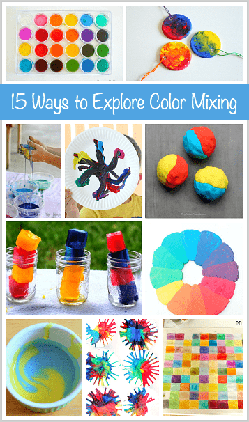 15 Ways for Kids to Explore Color Mixing - Buggy and Buddy