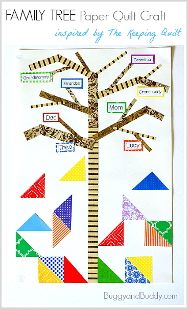 The Keeping Quilt: Family Tree Craft for Kids - Buggy and Buddy : keeping quilt - Adamdwight.com