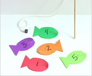 Fishing Math Game with Free Printables