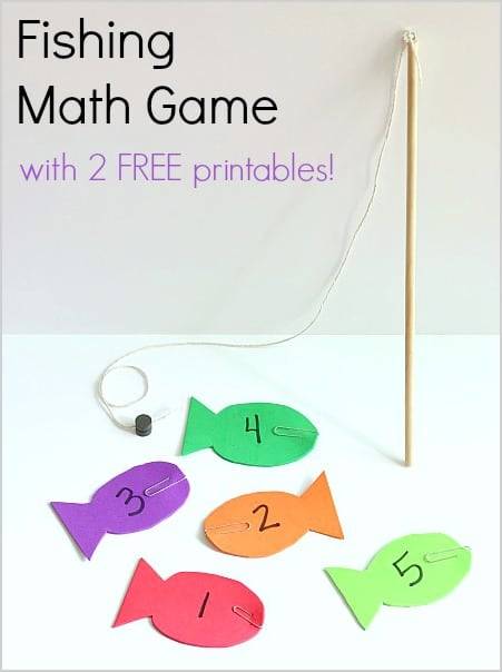 image about Printable Fishing identified as Fishing Math Activity with No cost Printables - Buggy and Close friend