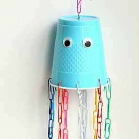 Fine Motor Jellyfish Craft for Kids