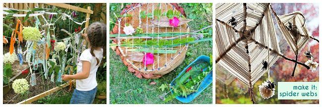 homemade weaving looms using natural materials
