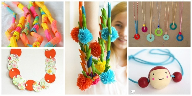 unique necklace crafts for kids