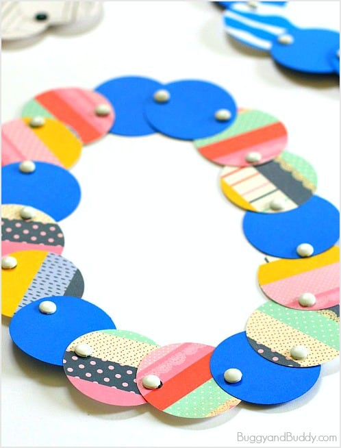 circle necklace craft