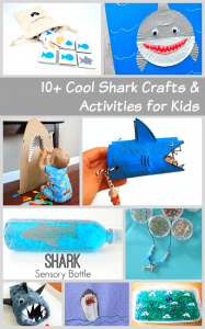 Over 10 of the Coolest Shark Crafts and Activities for Kids