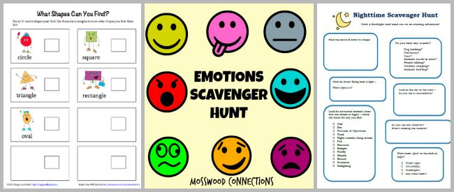 picture about Free Printable Scavenger Hunt named 30+ Cost-free Printable Scavenger Hunts for Youngsters - Buggy and Friend