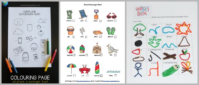 picture about Printable Scavenger Hunt for Kids referred to as 30+ Absolutely free Printable Scavenger Hunts for Young children - Buggy and Close friend