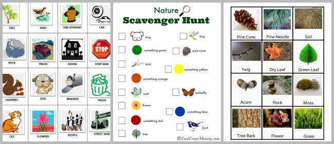 image relating to Printable Scavenger Hunt for Kids titled 30+ Cost-free Printable Scavenger Hunts for Small children - Buggy and Good friend