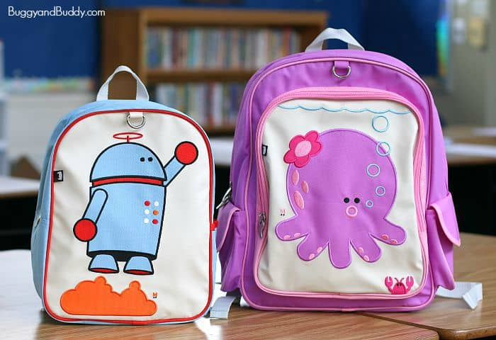 Details about  /Beatrix little kids backpack Go Green NWT