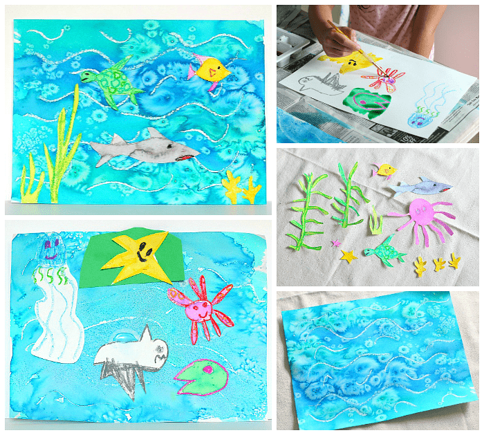 ocean art project for kids