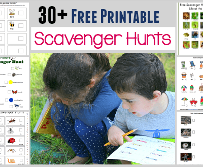 30+ Free Printable Scavenger Hunts for Kids