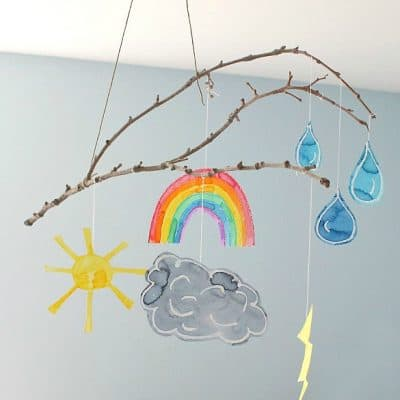 Weather Mobile Craft for Kids