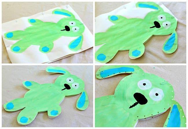 make a stuffed knuffle bunny