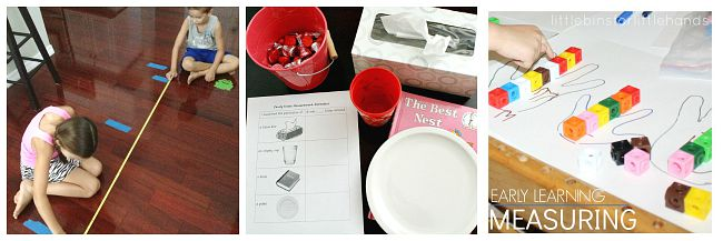 measurement activities for kids