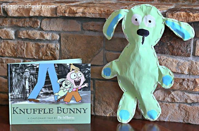 Stuffed Knuffle Bunny Art Project for Kids