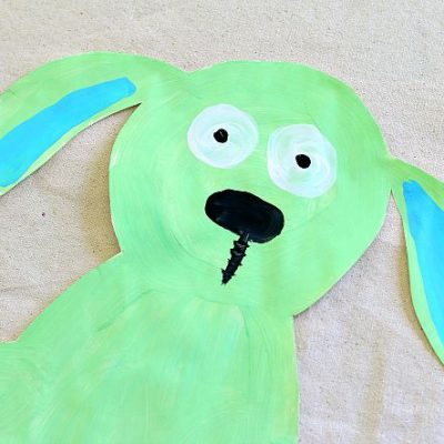 Knuffle Bunny Art Project for Kids