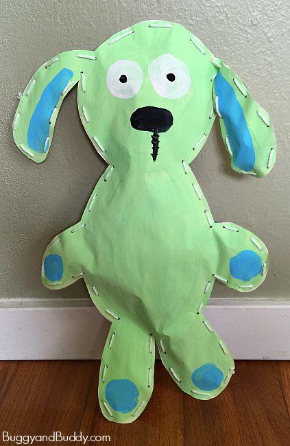 Knuffle Art Project for Preschool and Kindergarten