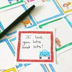 3 Free Printable Lunch Notes for Your Child's Lunch Box