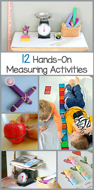 Math for Kids: 12 Hands-On Measurement Activities