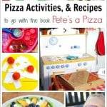 Pizza Activities for Kids to Go with Pete's a Pizza