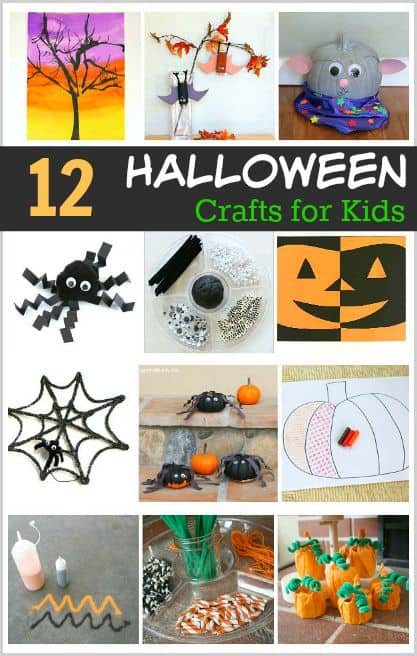 12 Awesome Halloween Crafts and Art Projects for Kids ~ BuggyandBuddy.com