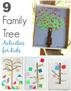 Kids can learn about family history with these 9 family tree projects!