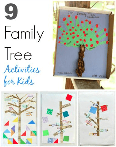 Kids Can Learn About Family History With These 9 Tree Projects