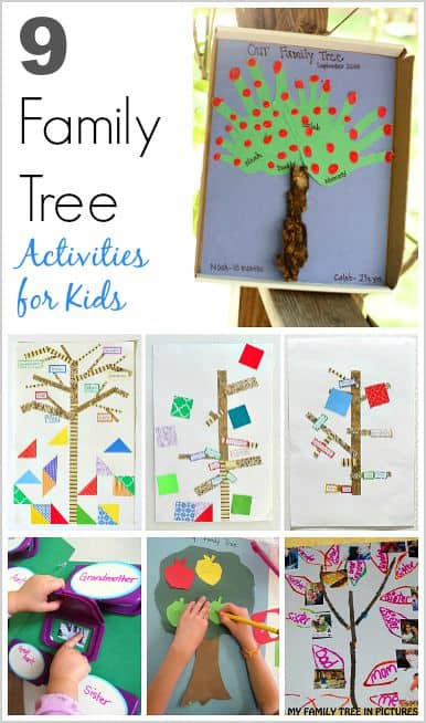 9 Family Tree Activities And Crafts For Kids Explore Genealogy Heritage With These