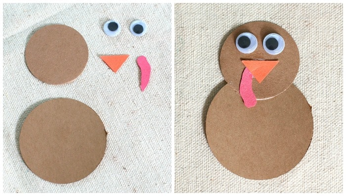 make a paper turkey