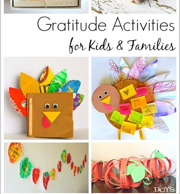 Gratitude Activities to Do with the Kids This Thanksgiving