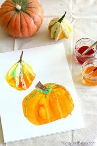 Pumpkin Still Life Art Project for Kids
