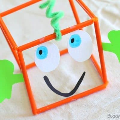 3-D Spookley the Pumpkin Math Activity