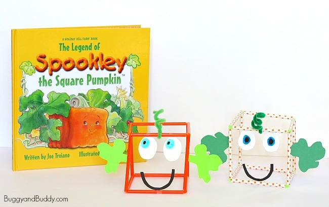 Halloween Math for Kids: Make a 3-D Spookley the Square Pumpkin