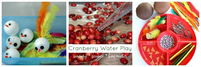 thanksgiving sensory play ideas