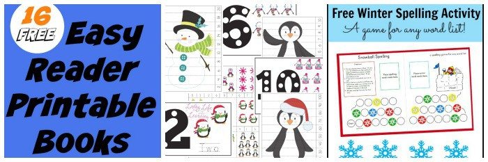 free worksheets for winter